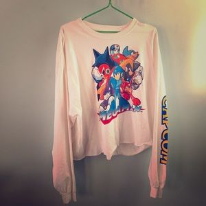 Tops - Megaman oversized shirt